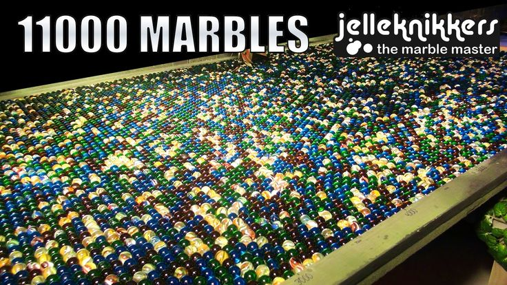 "Big Marble Run Machine: 11000 Marbles!!! (Kugelbahn, Knikkerbaan) This Marble Run ""Marble Tsunami"" has 4 tipping containers holding totally more than 11000 m..."