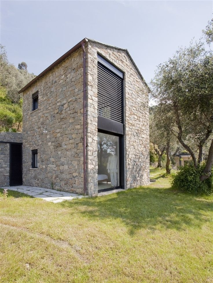 Italian Architectural Firms Architects And SibillAssociati Have Designed  The Farmhouse Restoration And Expansion In Riomaggiore, Italy.