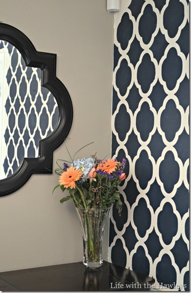 DIY Painting your walls with Stencils