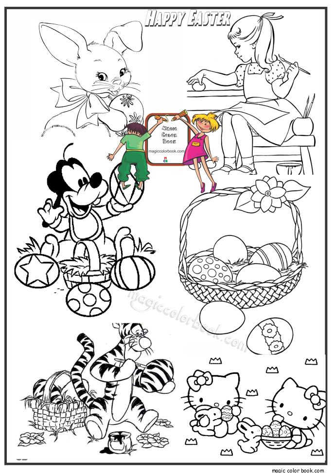 33 best Hello Kitty Coloring pages free online images on Pinterest - new easter coloring pages to do online