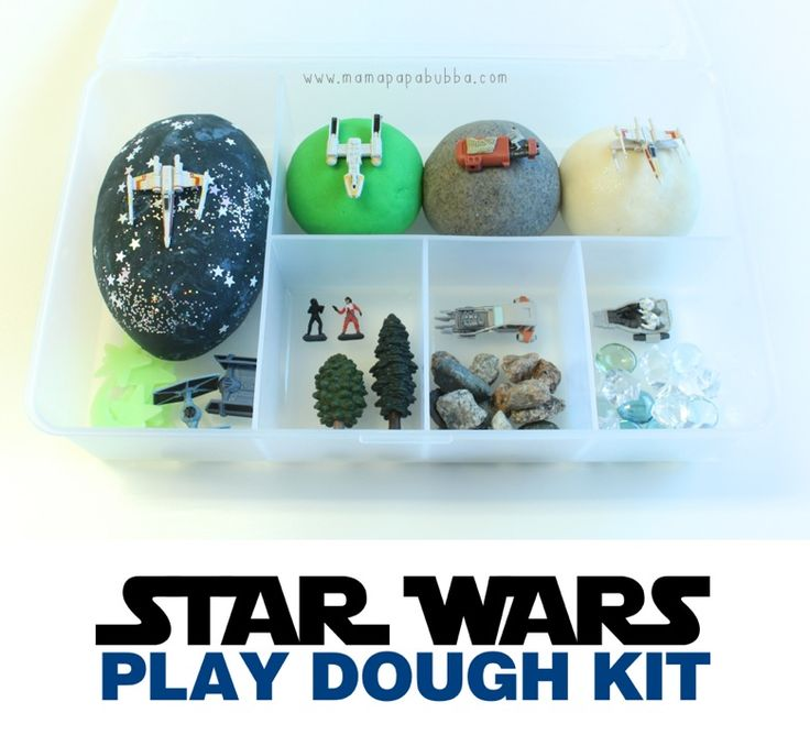 Star Wars Play Dough Kit | Mama.Papa.Bubba.: