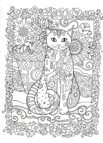 Mejores 31 imágenes de Criative Cats para colorir en Pinterest ...