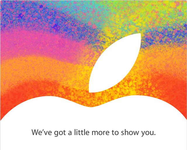 Apple's iPad mini event is happening on October 23rd