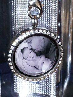Personal Locket. New Mom. Gift. South Hill. Picture - www.southhilldesigns.com/beautifulcustomlockets