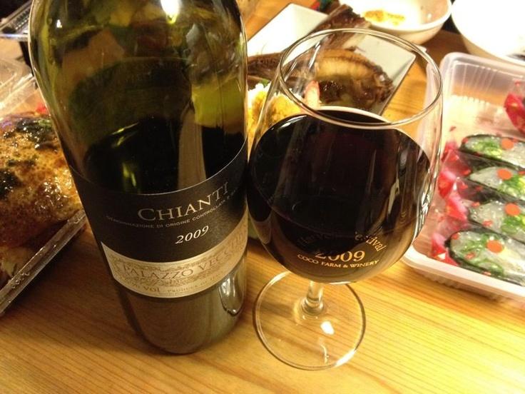 good italian daily wine. palazzo vecchio chianti. today's wine.