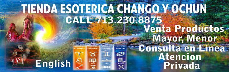 """Chango y Ochun ™ """"CON SU FE TODO ES POSIBLE"""" Chango y Ochun Santeros Cubanos Call (713) 230-8875 Productos para Botanica Yerberia, es una compania de Lucumi Products Inc"""