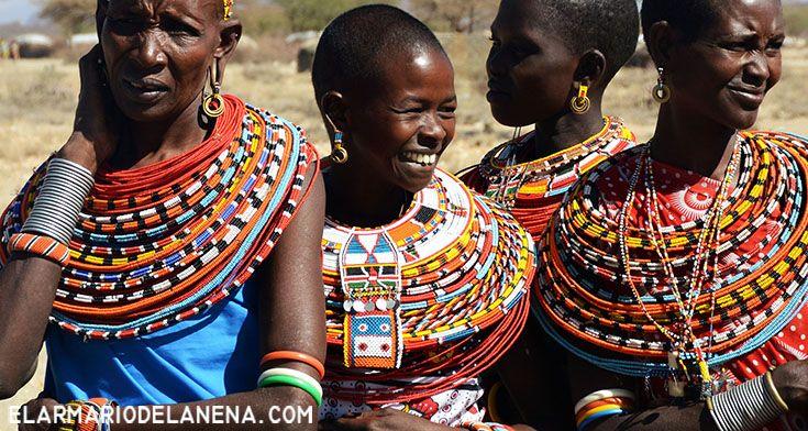 Samburu women (Kenya)