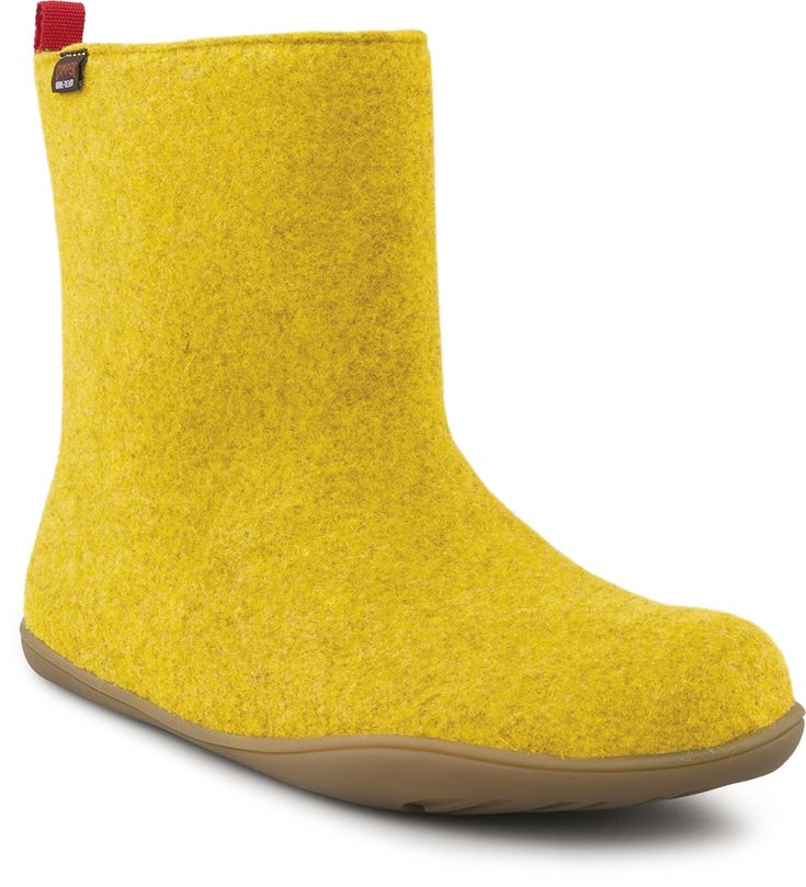 Camper Wabi: Gore-Tex®: complete waterproof protection and optimum climate comfort. Outsole made of 100% recyclable rubber. Fabric: wool and polyester blend.  #Boots #Wool #Camper