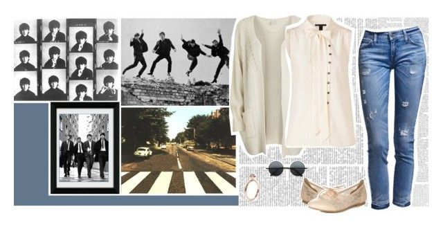 """""""Chapter 11    Here comes the sun"""" by green-jello ❤ liked on Polyvore featuring Katie Rowland, VILA, Marc by Marc Jacobs, Retrò, Call it SPRING, here comes the sun and the beatles"""