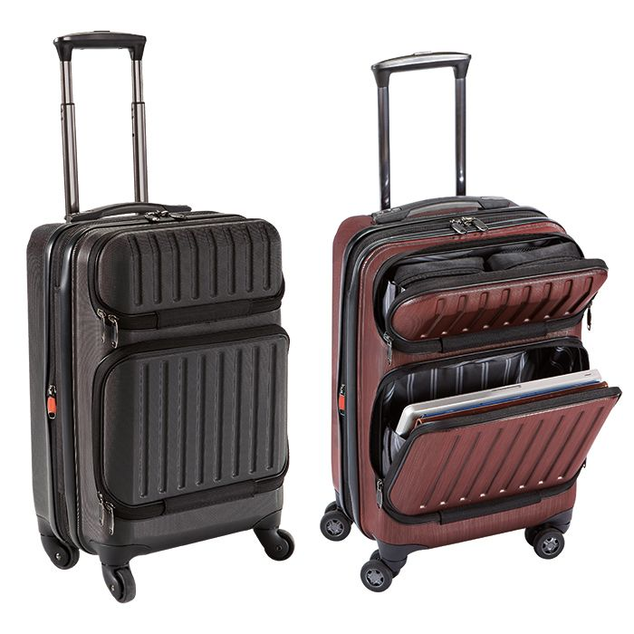 For the Traveling Dad! DASH™ Hardside Pro Carry-On Luggage