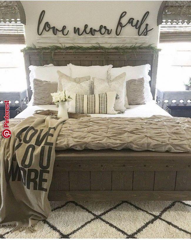 Amazing Farmhouse Style Master Bedroom Ideas 24 Amazing Farmhouse