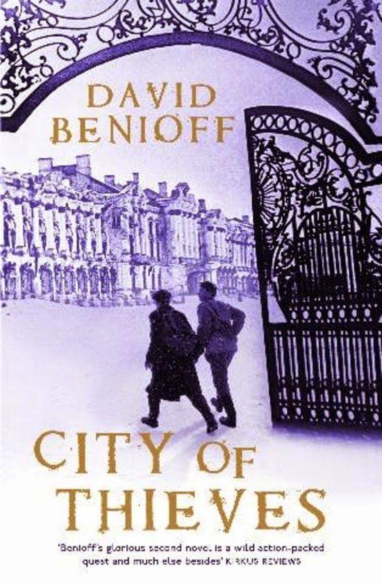 David Benioff: City of thieves | english cover | #davidbenioff #book #cover #bookcover #russia #worldwar #stpetersburg #winter