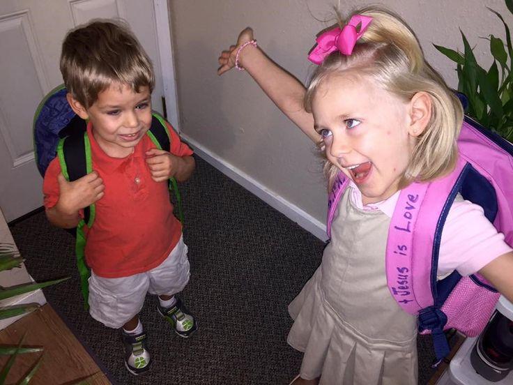 Transgender girl in center of school bathroom controversy has great 1st day of kindergarten | CW39 NewsFix