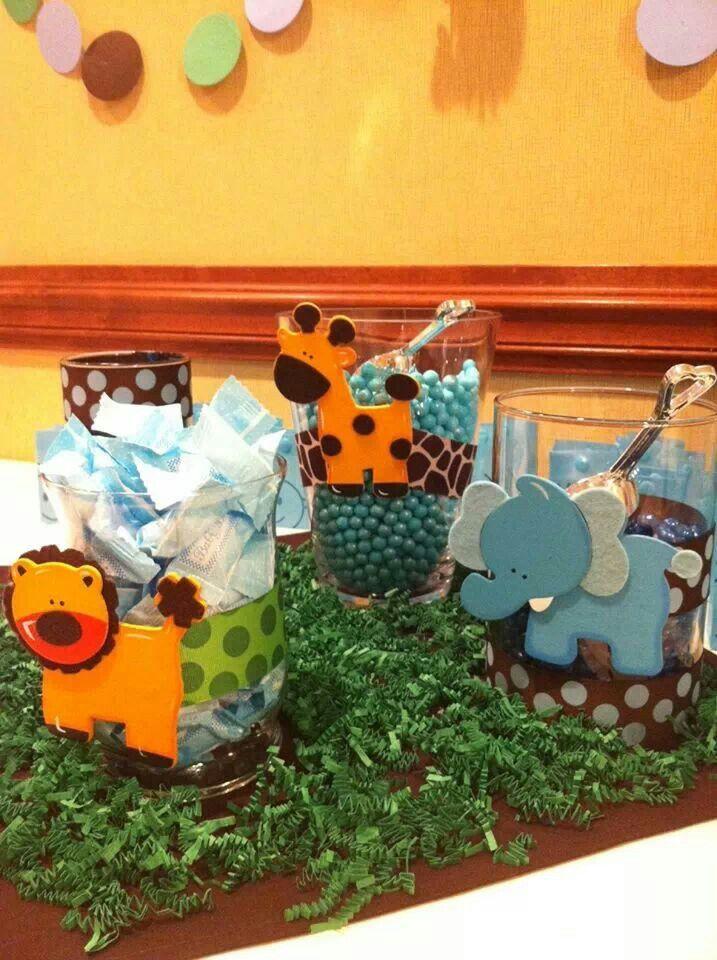 DIY baby shower decorations