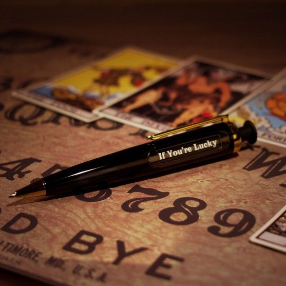 Fun & Games - Predict-a-Pen: het balpen orakel - Hulp bij beslissingen voor mensen die dat nodig hebben.