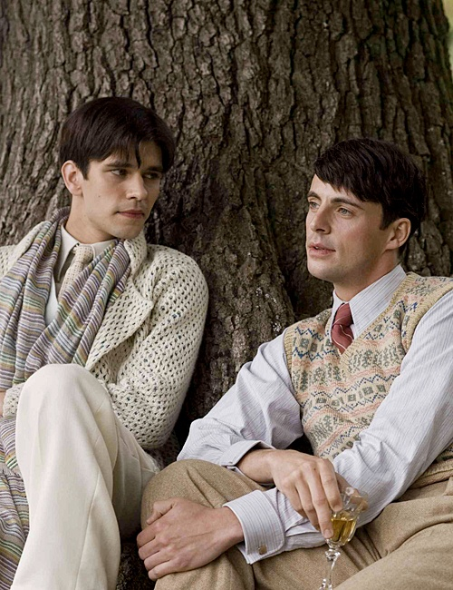 "Ben Whishaw & Matthew Goode in ""Brideshead Revisited"""