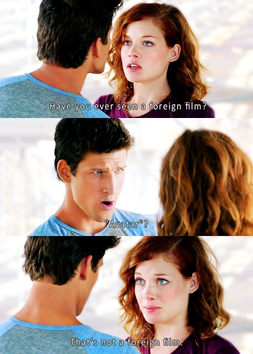 O my goodness. That is just funny. I love suburgatory