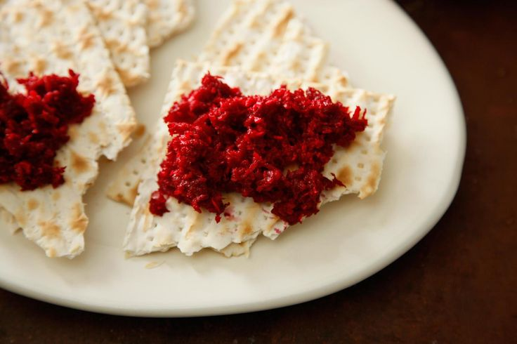 """A classic condiment for topping gefilte fish, from """"The Jewish Festival Cookbook."""""""