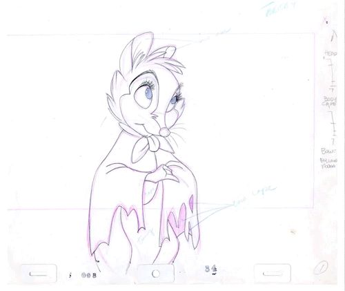 Secret of NIMH pencil tests