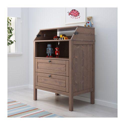 SUNDVIK Pelenkázóasztal/fiókos szekrény  - IKEA