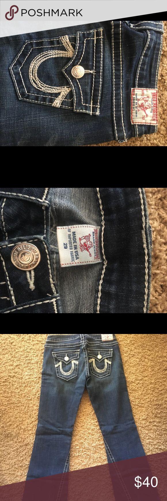 True religion jeans True religions in great condition. Size 29 True Religion Jeans Flare & Wide Leg