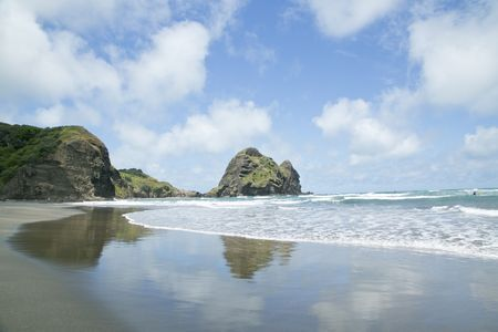 Piha Beach Photo by Orla Casey -- National Geographic Your Shot