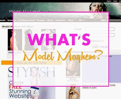 What's model mayhem? Why is it important to make up artist?