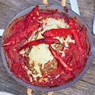 Een heerlijk recept: Jamie Oliver: varkensgehaktbrood met spaghetti en saus