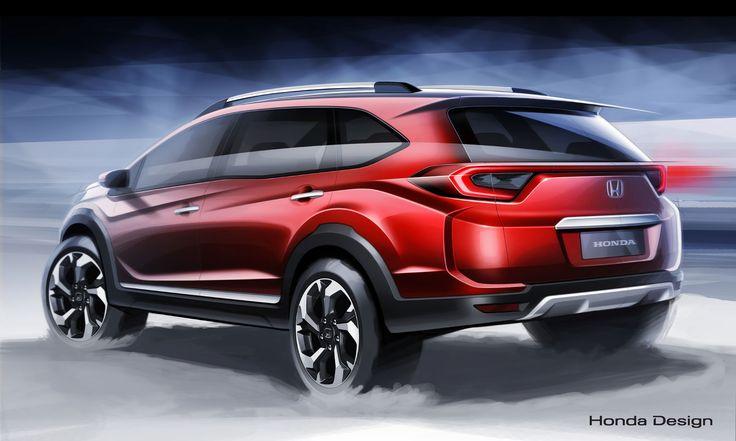 Honda BR-V Concept Design Sketch