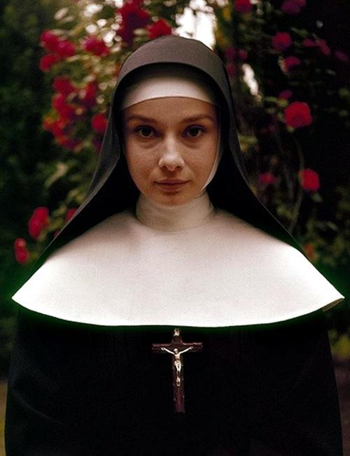 Audrey Hepburn in the Nun's Story!
