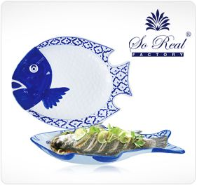 Fish Platters, Thai Ceramic ware, Hand Painted Ceramic ware Products of Thailand in USA, Asian Restaurant supplies, Dinner Plates, Soup Bowls, Condiment Sets, Pedestal Plates, Tea Pot & Cups