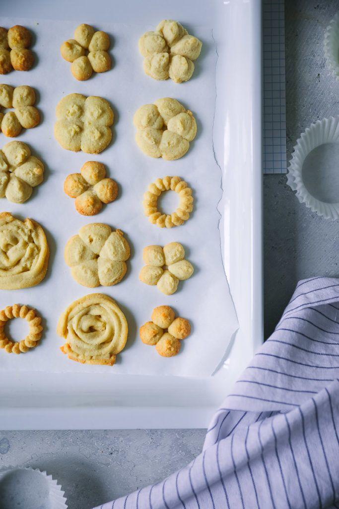 Rezept für Dänische Butterkekse | Zucker, Zimt und Liebe