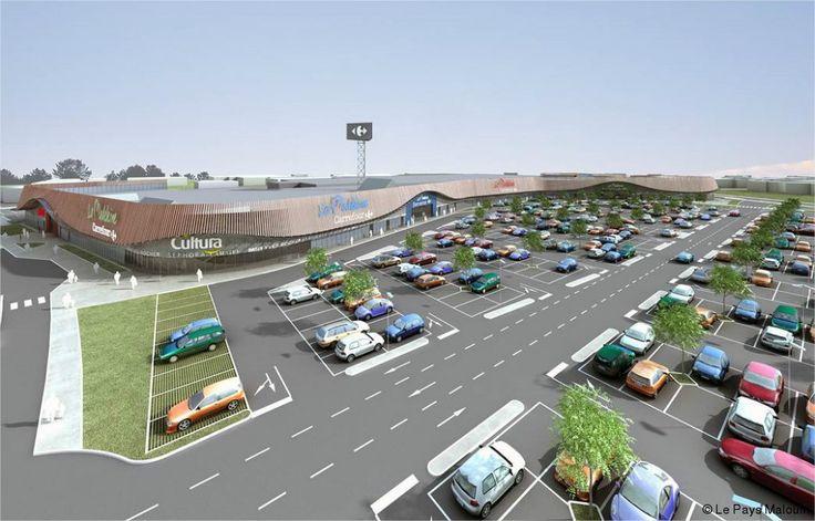 Pour ses 30 ans, le centre commercial de La Madeleine, qui abrite l'hypermarché Carrefour, va s'agrandir et s'offrir une façade résolument plus moderne. Explications.