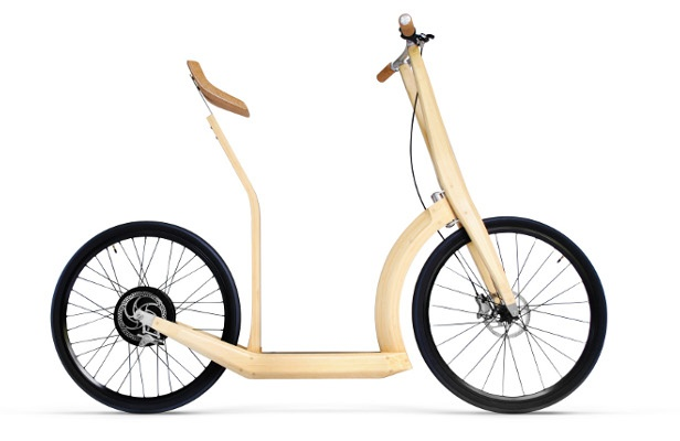 Check out these amazing bamboo designs: T2O Bamboo, Bamboo Electric, Electric Scooters, Bamboo Scooters, Bikes, Bamboo Bike, Electric Bike, Antoin Fritsch, Design