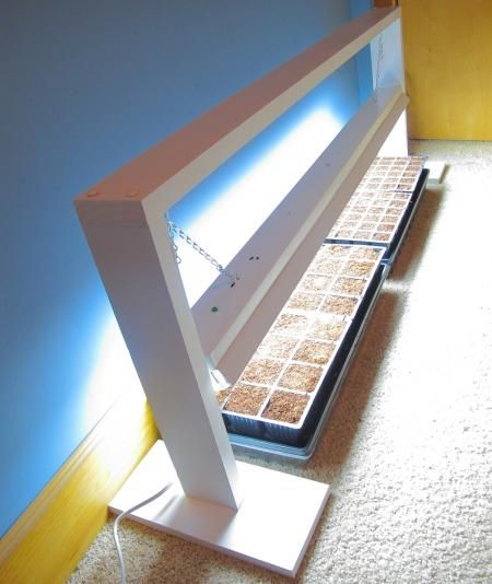DIY Grow Light for Starting Seeds | Do It Yourself Home Projects from Ana White