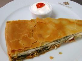 Ηπειρώτικη χορτόπιτα στο Grand Serai - με σπιτικό φύλλο βέργας | TasteFULL