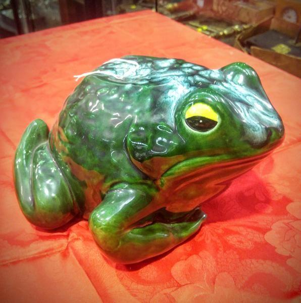 GA1132   -   Australian Maru Pottery Frog c1950s