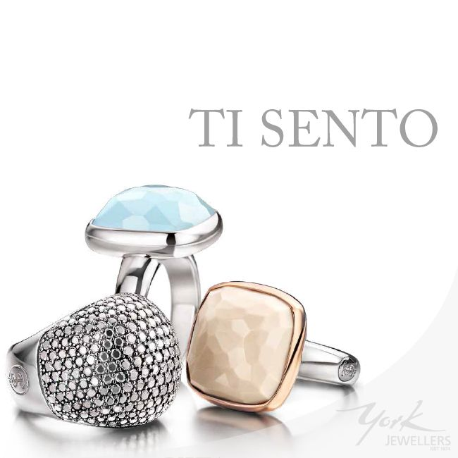 #TiSento - perfect for weekend sparkle.  www.yorkjewellers.com.au
