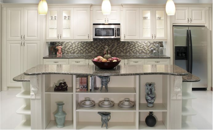 New Frameless Kitchen Cabinets Online