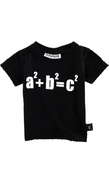 'A+B=C' Tee by nununu #T_Shirt #Babies