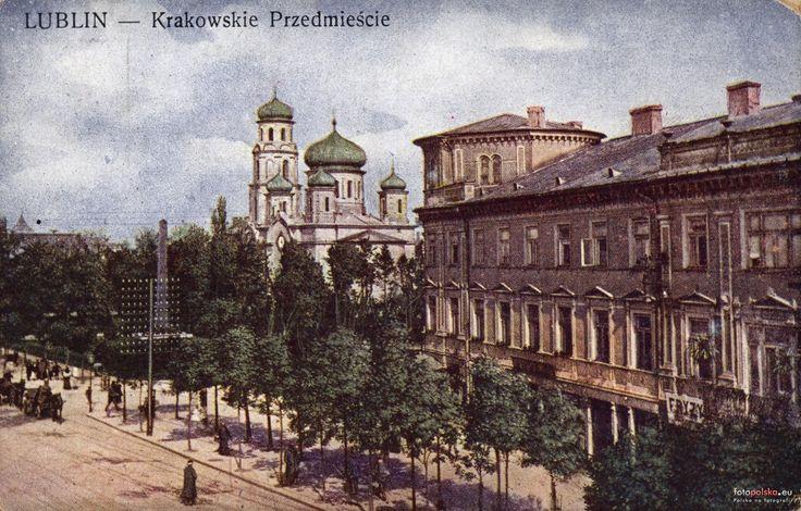 "Hotel ""Europa"", Lublin - 1916 rok, stare zdjęcia"