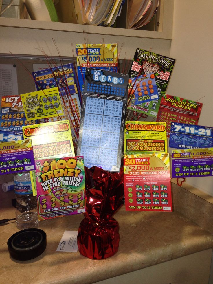 Lottery Ticket Bouquet For Valentines Day Crafty