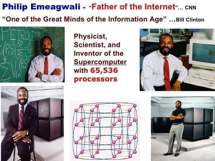 Image result for philip emeagwali inventions | African american inventors, Information age, History