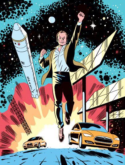 Elon Musk tackling the universe. Go Elon