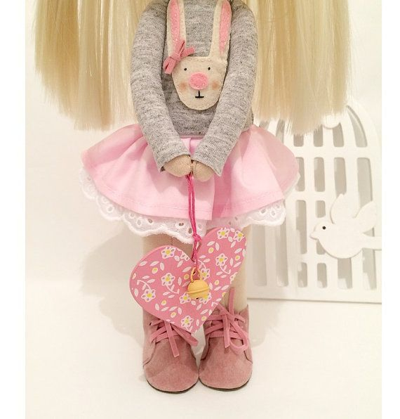 Decor tilda doll Art doll Sunny doll handmade by AnnKirillartPlace