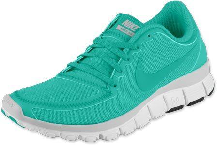 Nike Free 5.0 V4 W Schuhe türkis grün