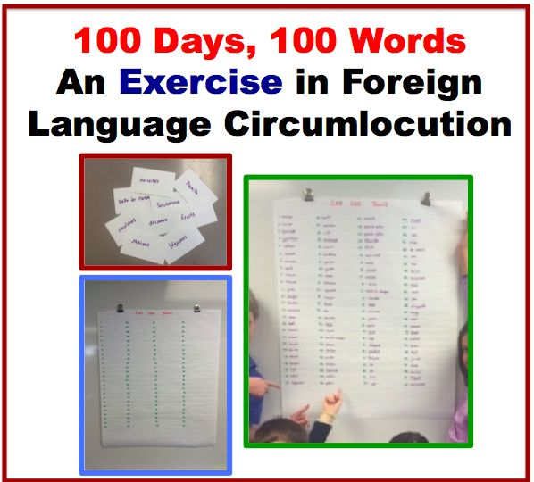 100 Days, 100 Words: An Exercise in Foreign Language Circumlocution.
