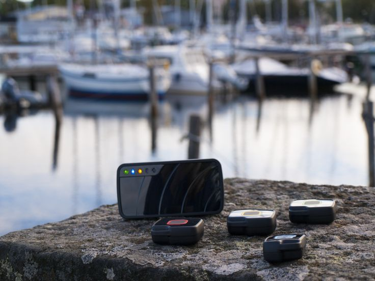 Vibsolas Gea can be used also as a boat alarm or to monitor multiple boats in a harbour