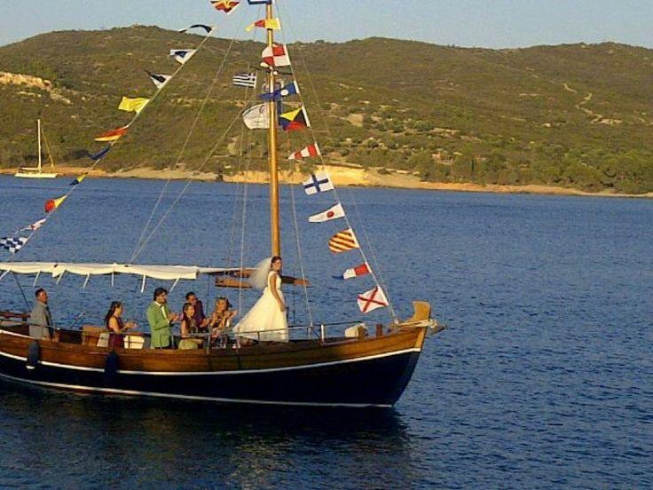 Bridal tranportation   Keyhole View: Antique kaiki boat