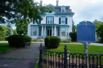 c.1875. Main Street, Pittsfield, New Hampshire